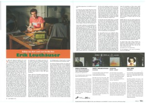 Jazzpodium November 2015 großer Artikel zu Debut Album bei MONS Records
