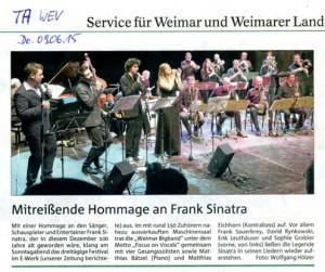 Thüringer Allgemeine 09.06.2015
